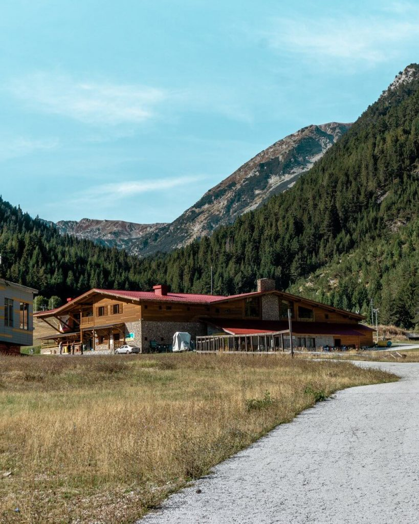 Restaurants up in the Pirin Mountains.