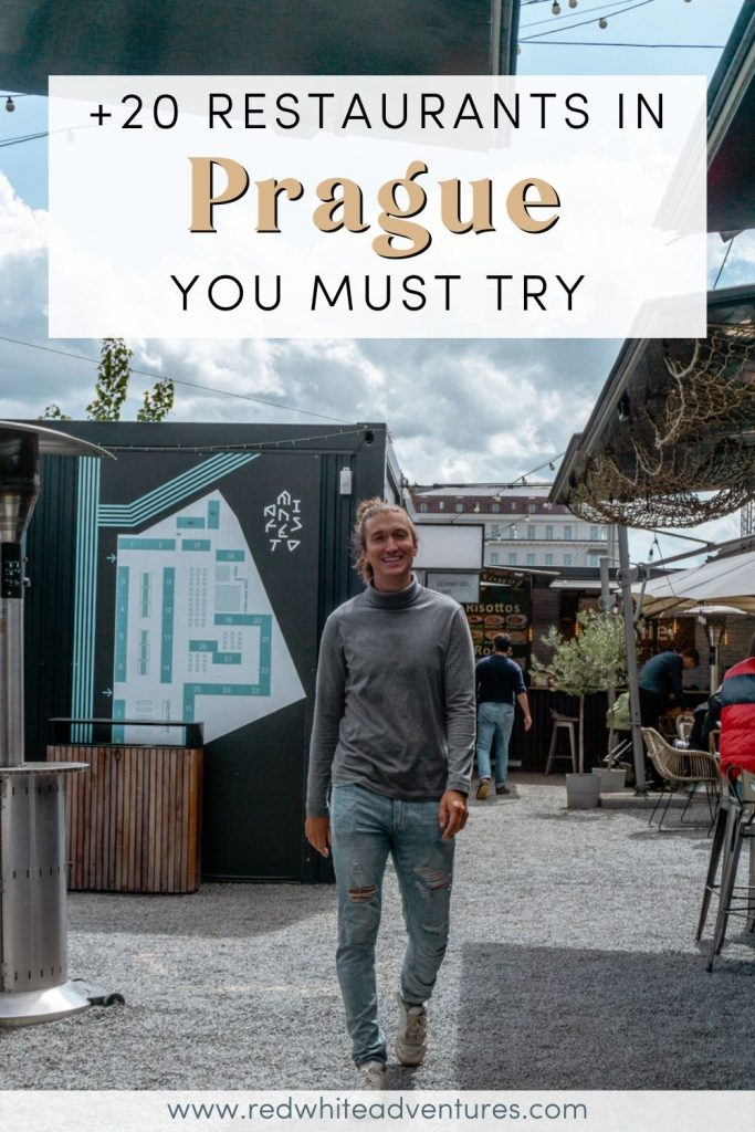 Pin for the best restaurants in Prague you must try