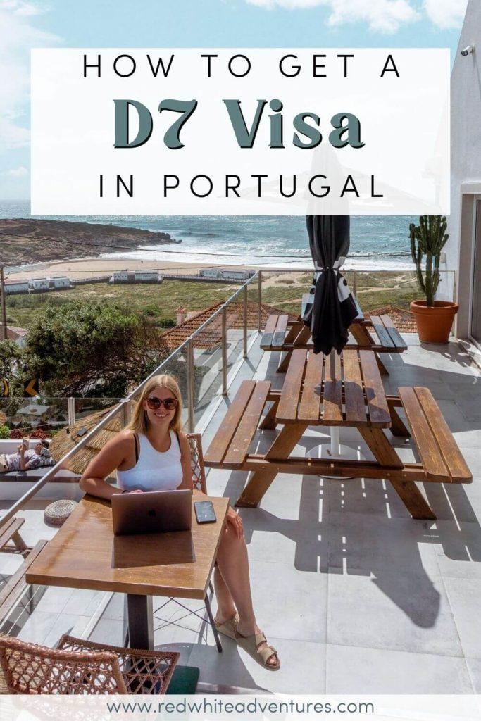 D7 visa pin for Portugal.
