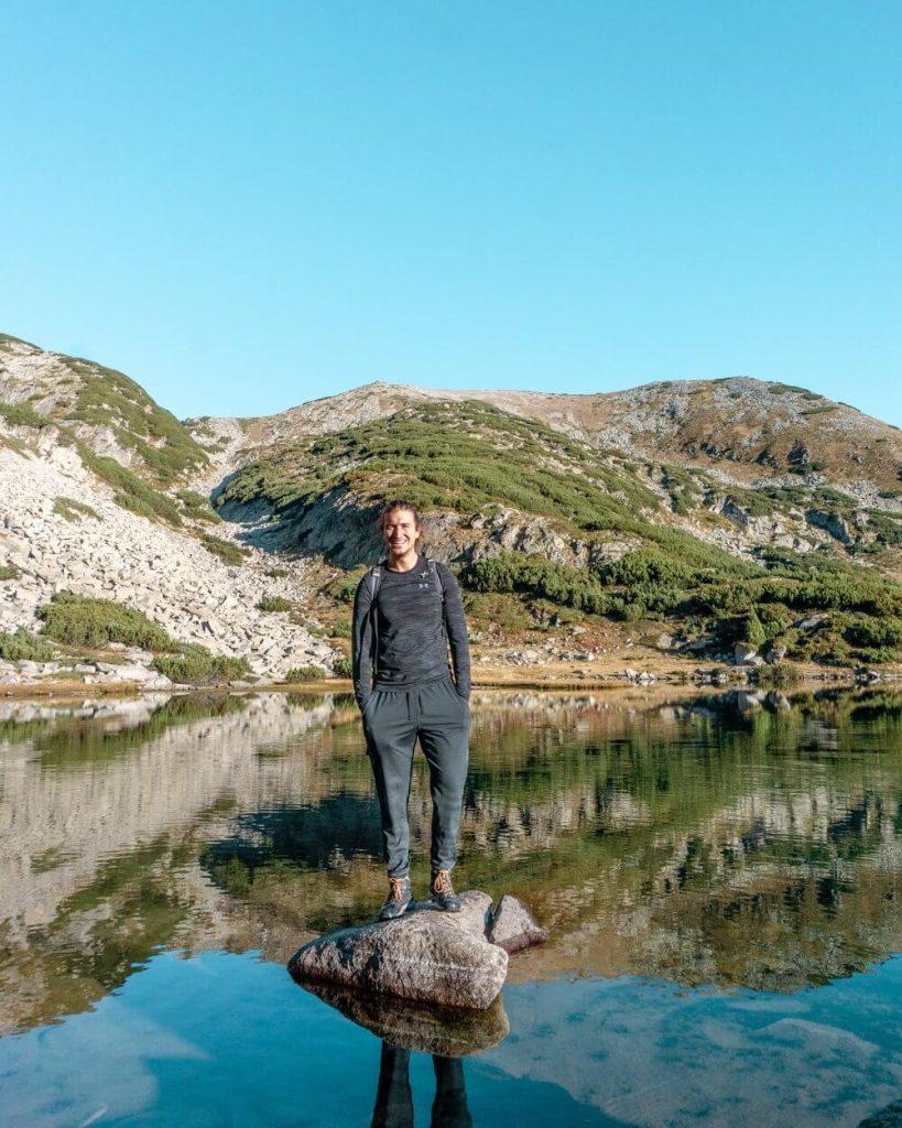 Dom hiking in Bulgaria.