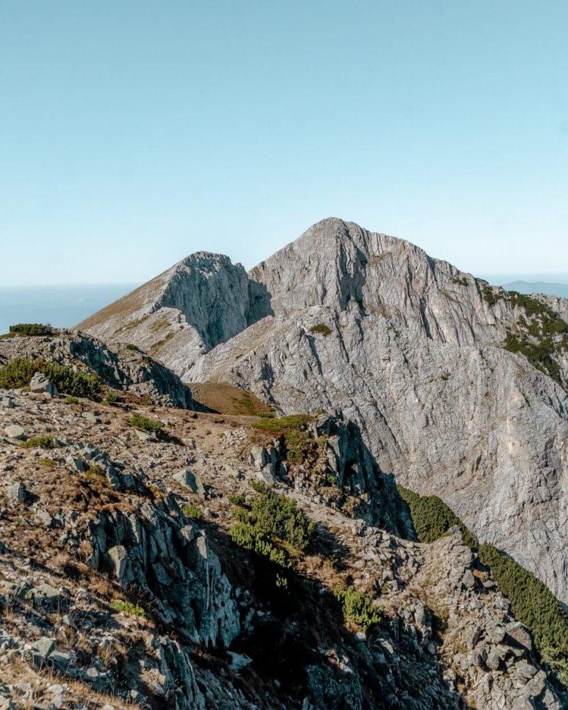 Sinanitsa Peak in the Pirin Mountains.