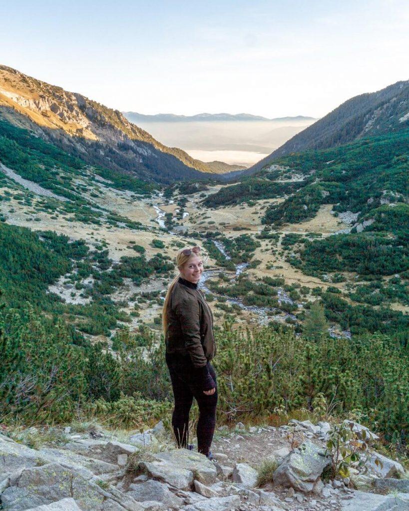 Gorgeous views of the Pirin Mountains in Bulgaria.
