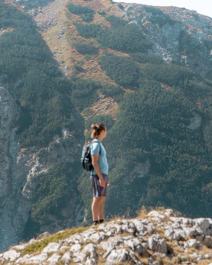 Dom trekking in Bulgaria.