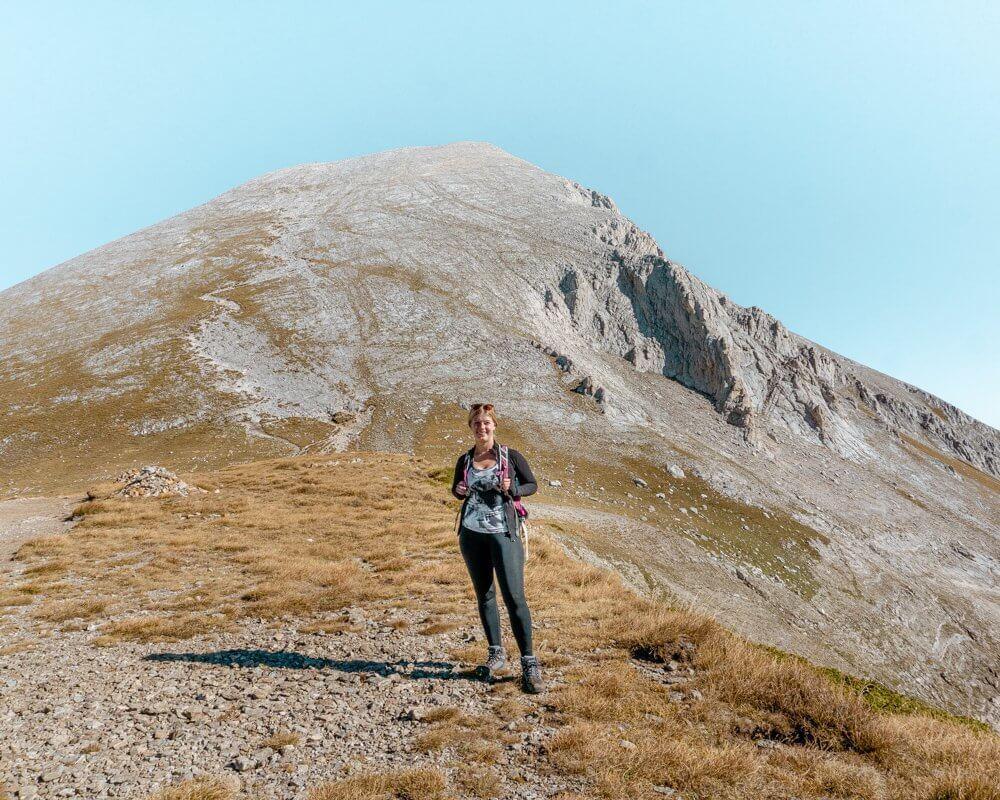 The view of Vihren Mountain