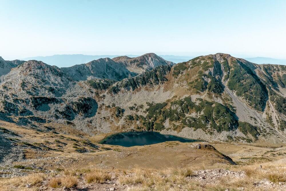 Beautiful alpine lakes in Bulgaria.