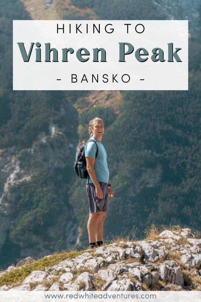 Vihren Peak near Bansko hike.