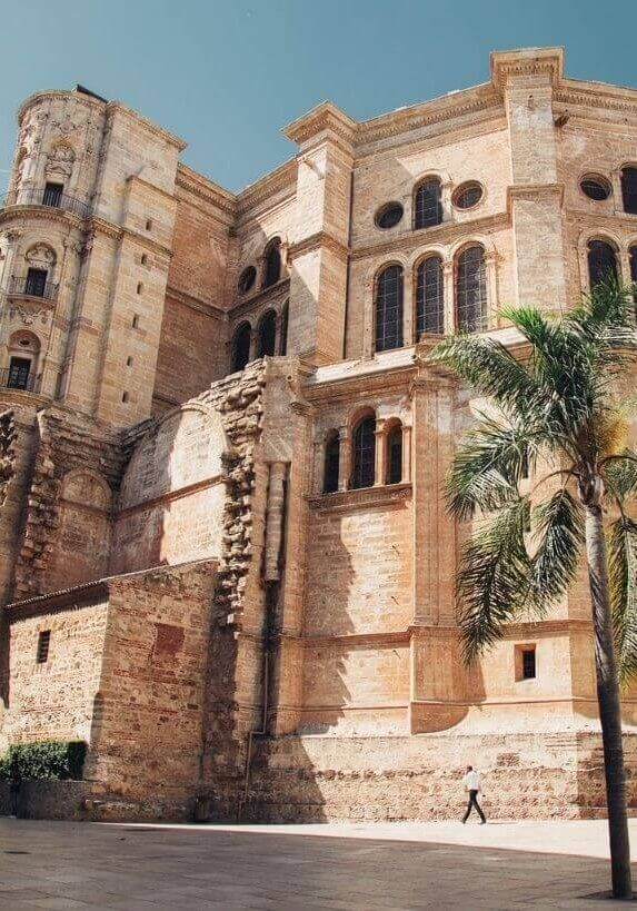 Gorgeous Cathedral in Malaga, Spain.