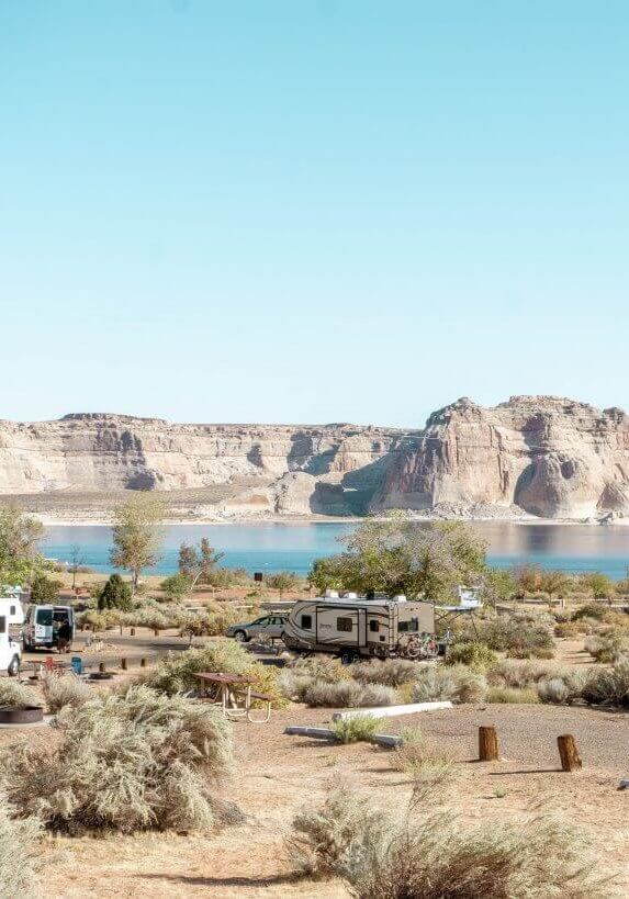 Wahweap campground is one of the best things to do in northern Arizona